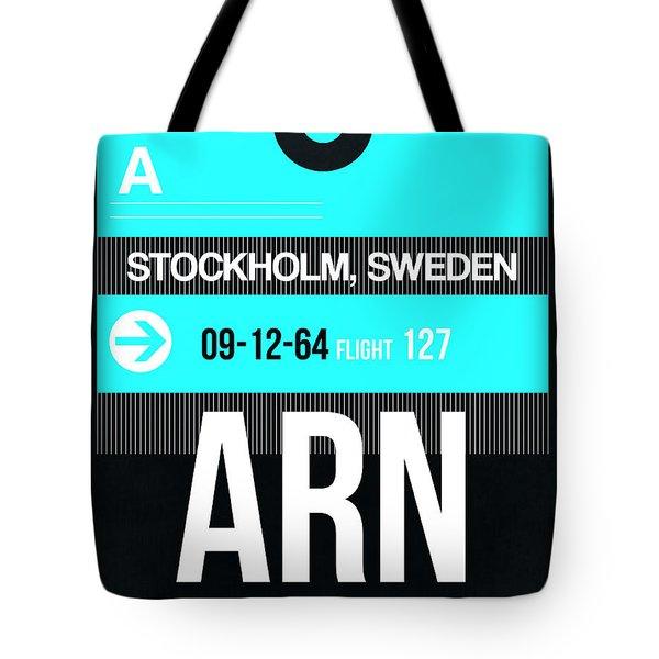Arn Stockholm Luggage Tag II Tote Bag
