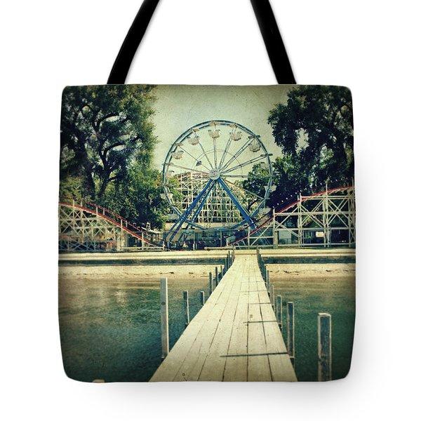 Arnolds Park Tote Bag