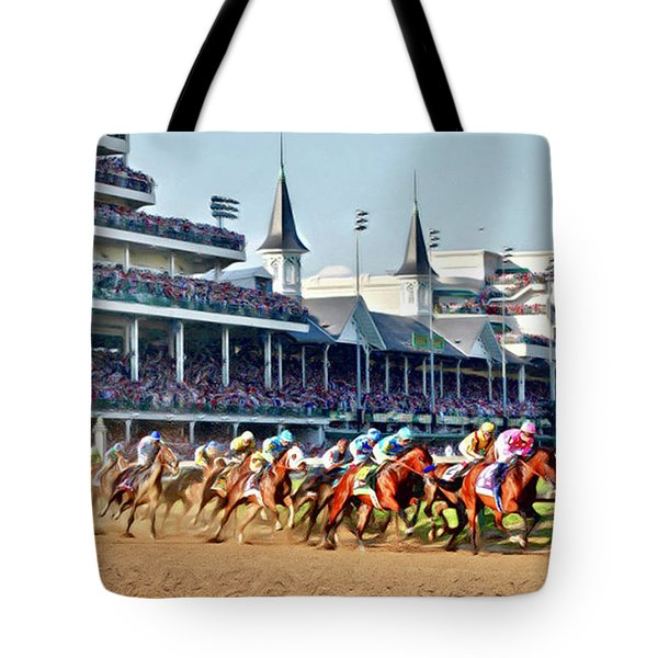 Around The First Turn Tote Bag
