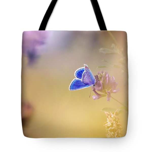 Around The Meadow 4 Tote Bag