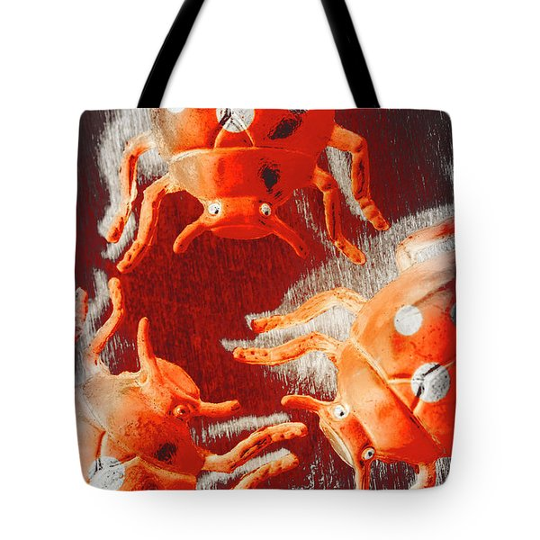 Art Deco Bug Tote Bag
