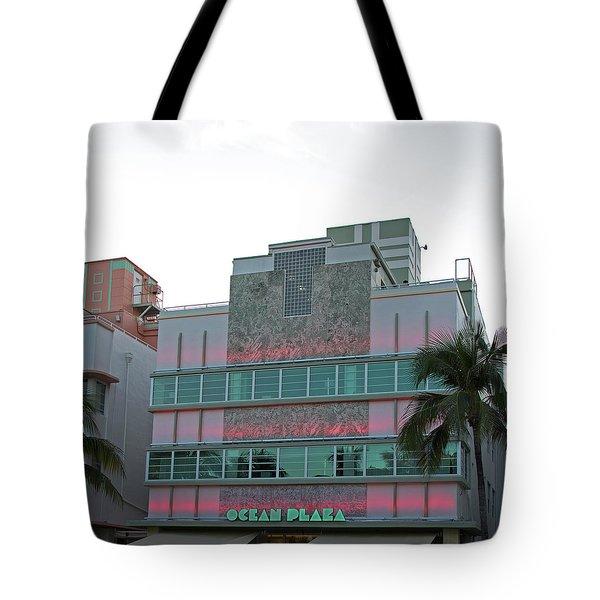 Art Deco - South Beach - Miami Beach Tote Bag