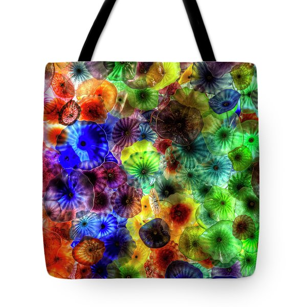 Art From Above Tote Bag