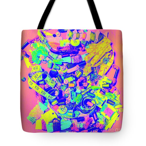 Art Of A Tailor Tote Bag