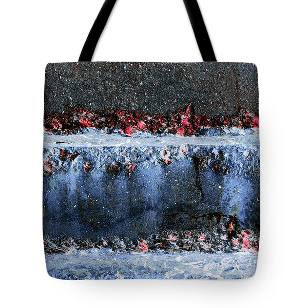 Tote Bag featuring the photograph Art Print Abstract 16 by Harry Gruenert