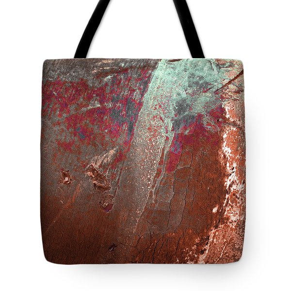 Tote Bag featuring the photograph Art Print Patina 53 by Harry Gruenert