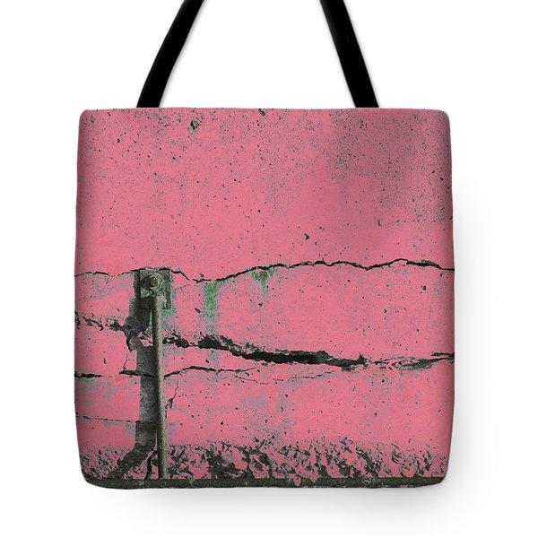 Tote Bag featuring the photograph Art Print Walls 50 by Harry Gruenert