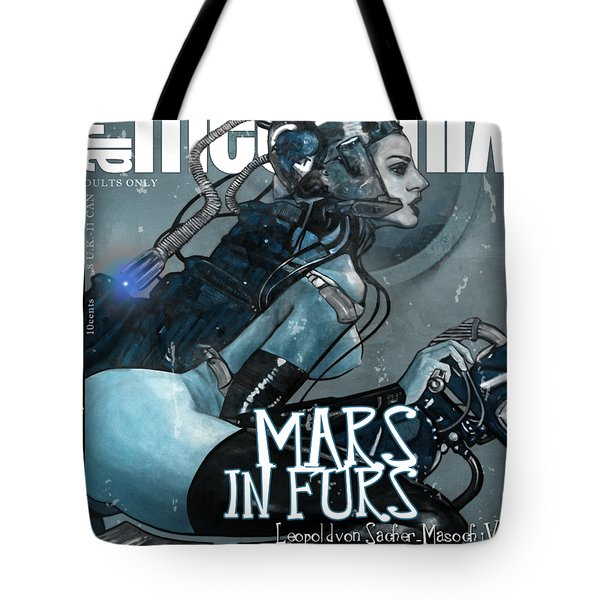 arteMECHANIX 1926 MARS IN FURS GRUNGE Tote Bag