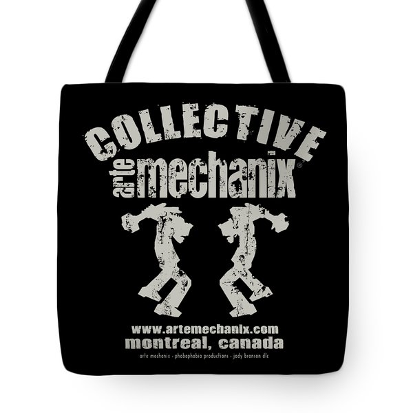 arteMECHANIX COLLECTIVE GRUNGE Tote Bag