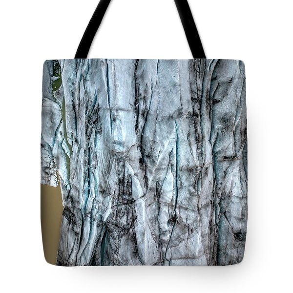 Tote Bag featuring the photograph Artic Glacier by David Letts