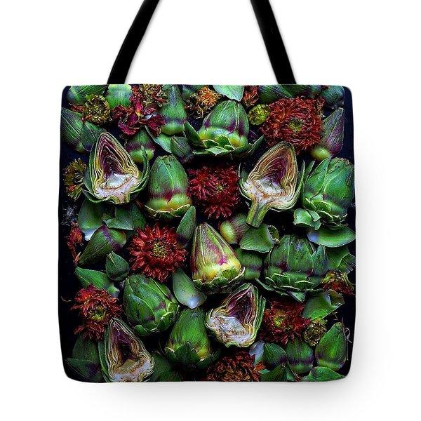 Artichoke Art Tote Bag
