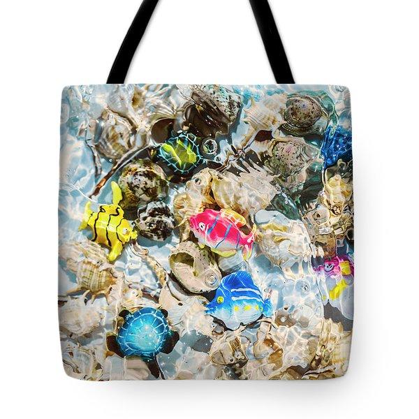 Artificial Aquarium  Tote Bag
