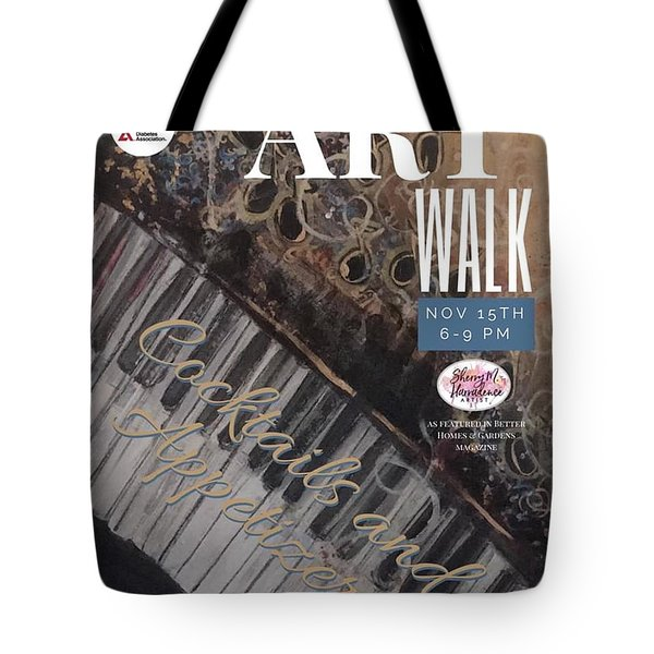 Artwalk Art Show Scottsdale  Tote Bag