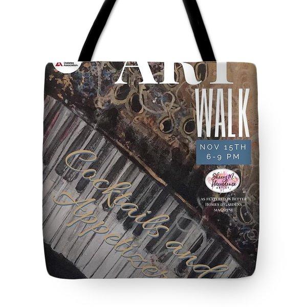 Artwalk Art Show Scottsdale  Tote Bag