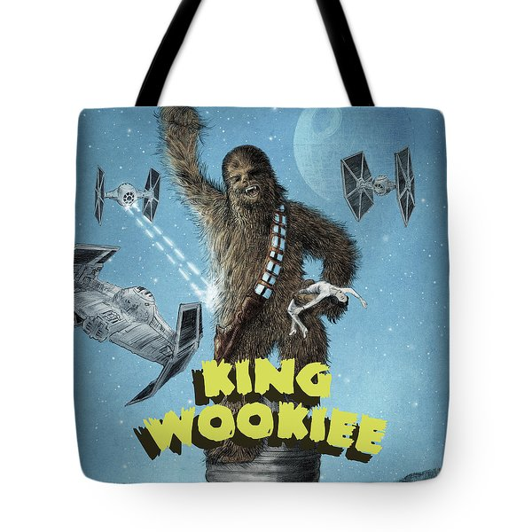 King Wookiee Tote Bag
