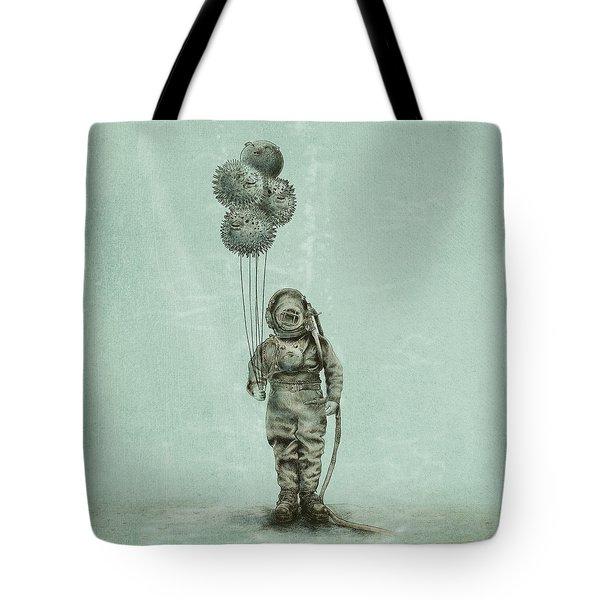 Balloon Fish Tote Bag
