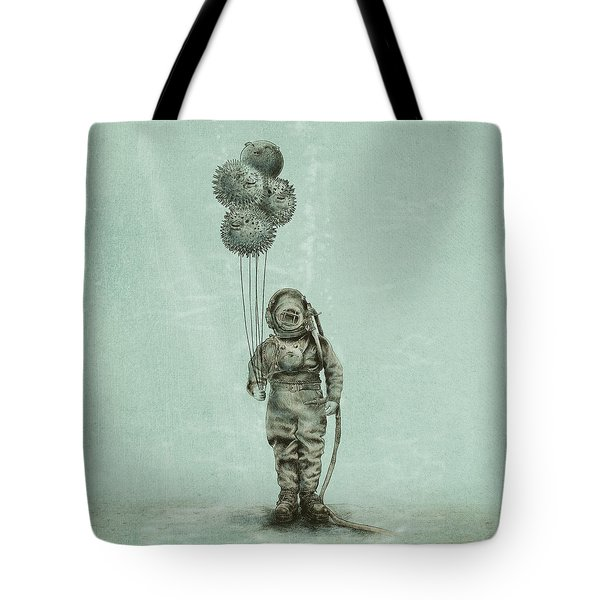 Balloon Fish Tote Bag