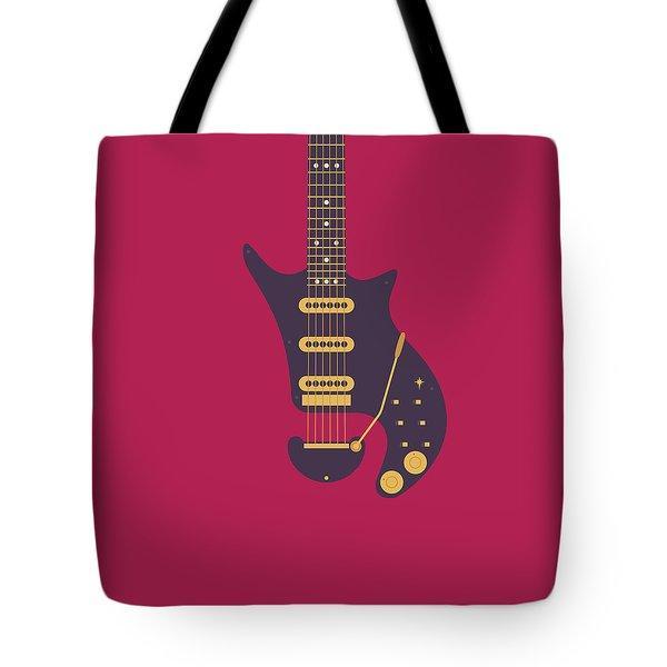 Red Special Guitar - Burgundy Tote Bag