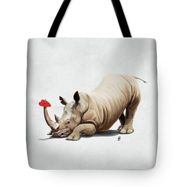Horny Wordless Tote Bag