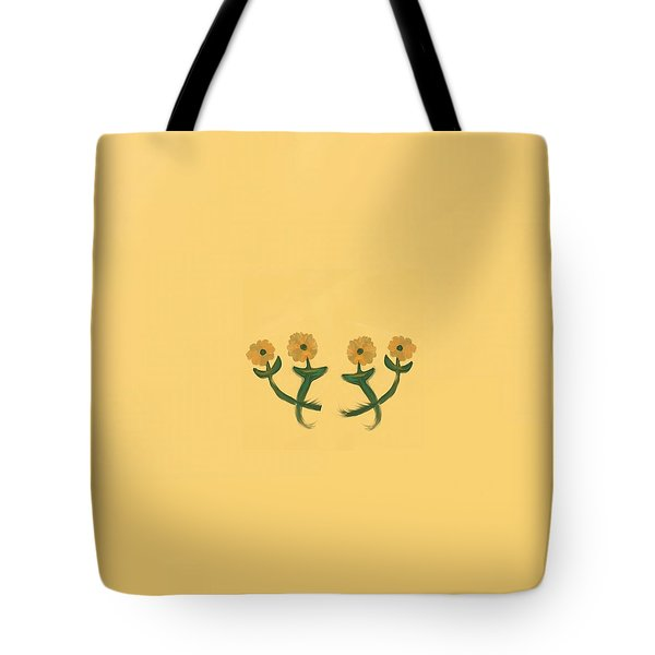 Four In Bronze Tote Bag