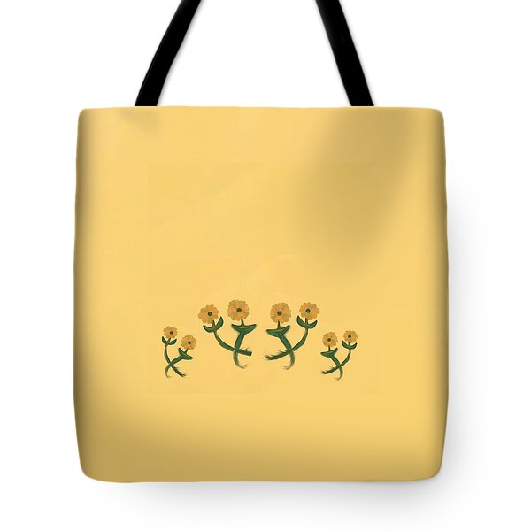 Eight In Bronze Tote Bag