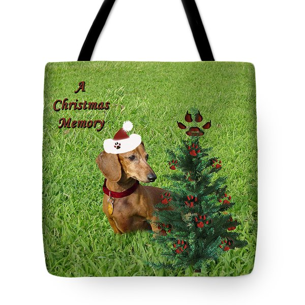 A Christmas Memory Tote Bag