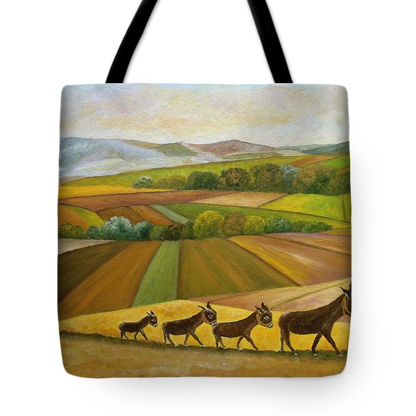 Sunday Promenade Tote Bag
