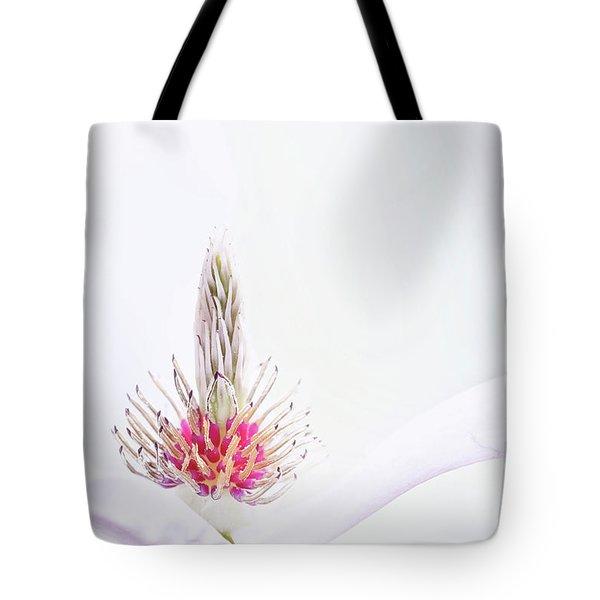 The Heart Of A Magnolia Tote Bag
