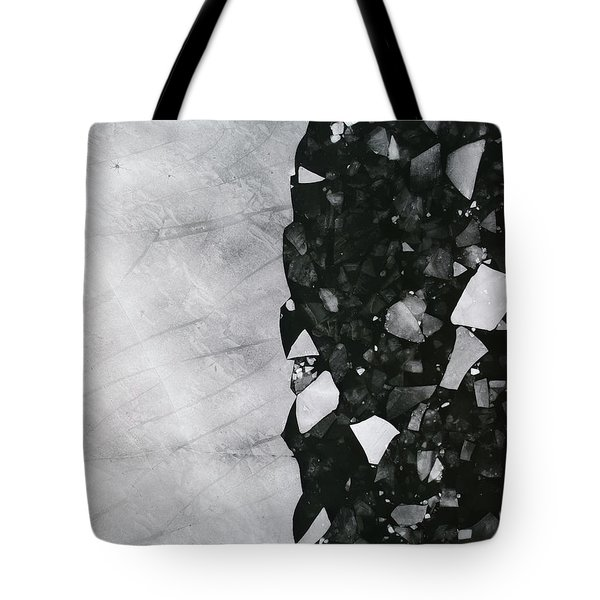 Winters Edge - Aerial Photography Tote Bag