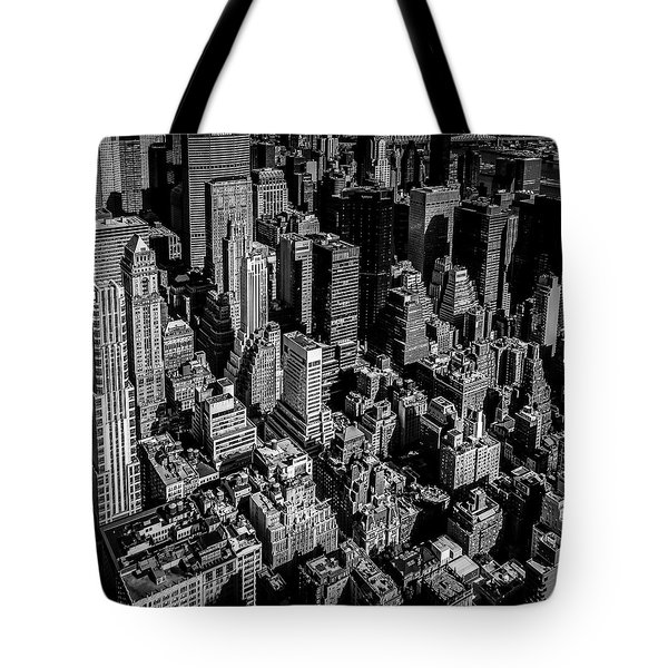 Manhattan Rooftop View Tote Bag