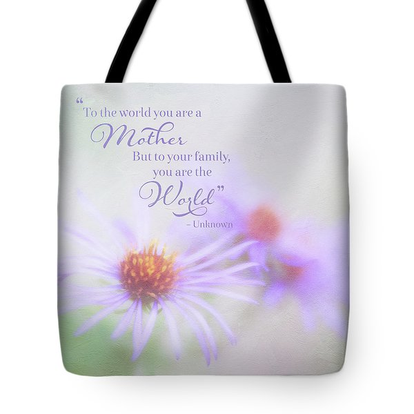 Asters For Mother's Day Tote Bag
