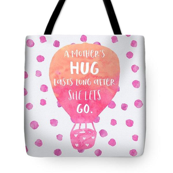 A Mother's Hug Tote Bag