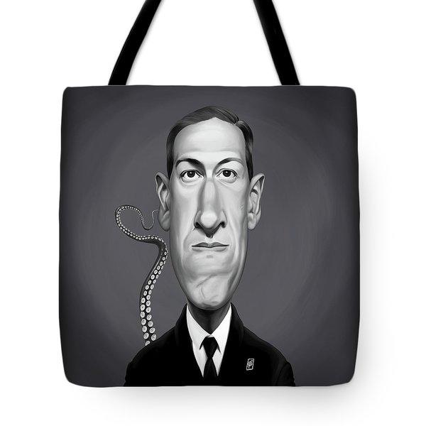 Celebrity Sunday - H.p Lovecraft Tote Bag