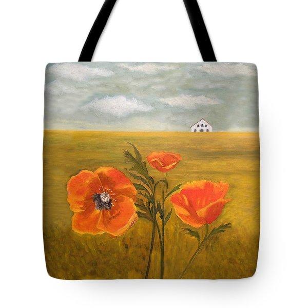 Springtime Storm Tote Bag