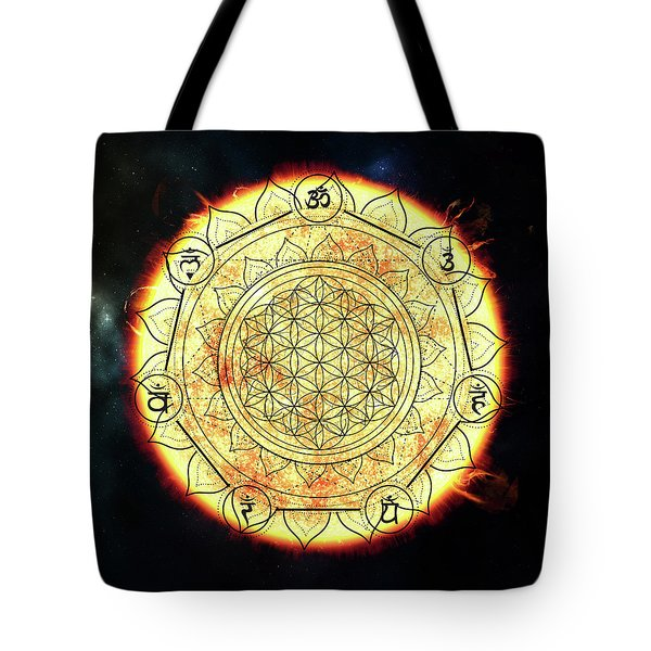 Tote Bag featuring the digital art Creative Force by Bee-Bee Deigner