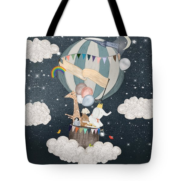 The Stars Shine For You Tote Bag