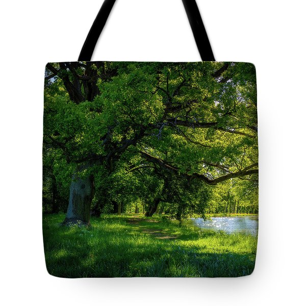 Summer Morning In The Park Tote Bag