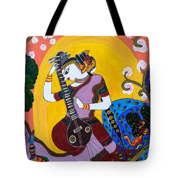 Sangeet Sandhya Tote Bag