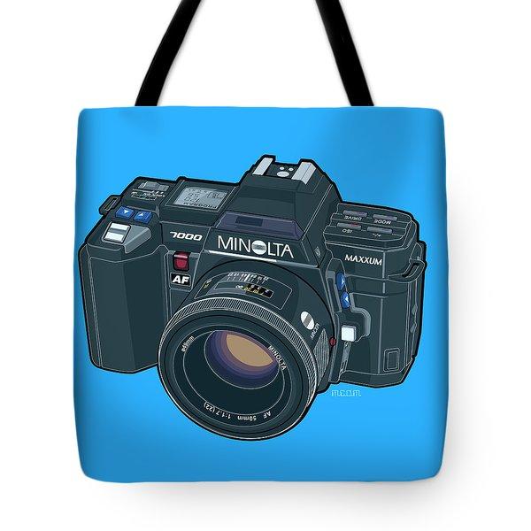 Minolta Maxxum Alpha 7000 35mm Autofocus Slr Tote Bag