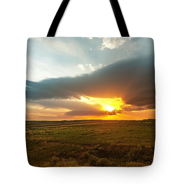 As The Sun Is Setting Tote Bag