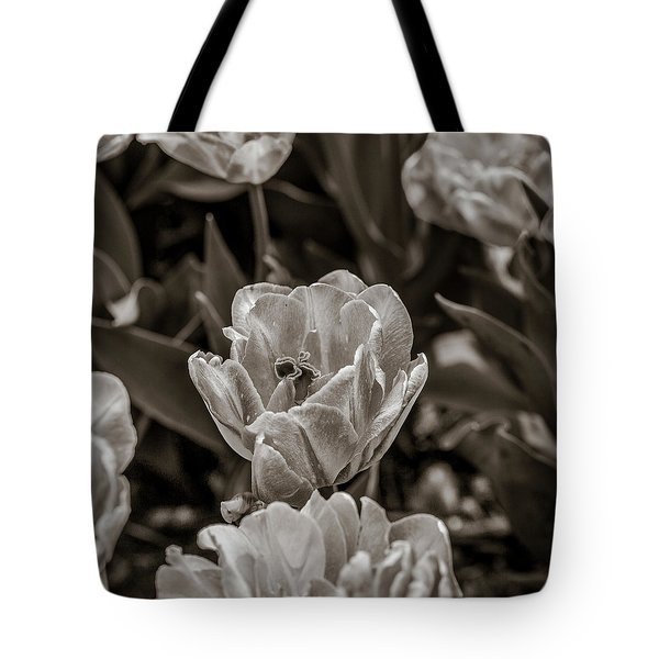 As Through A Microscope Tote Bag