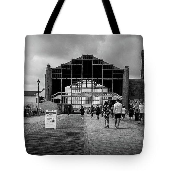 Asbury Park Boardwalk Tote Bag