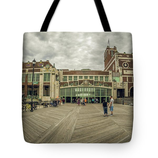 Asbury Park Convention Hall Tote Bag