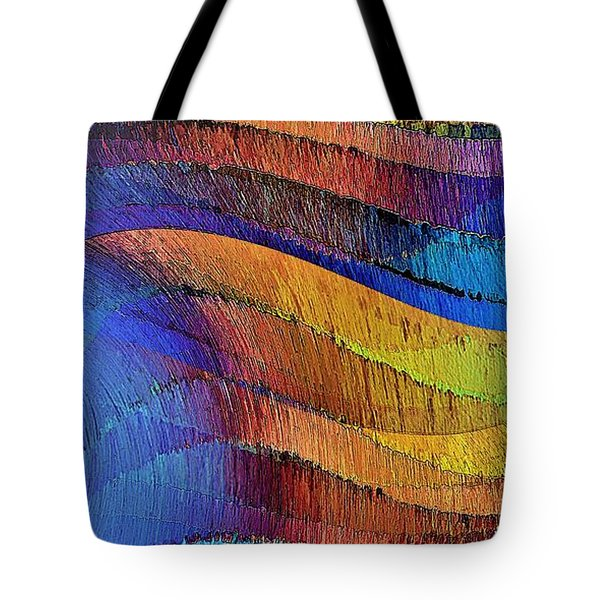 Tote Bag featuring the digital art Ascendance by David Manlove
