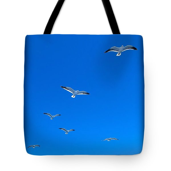 Ascending To Heaven Tote Bag