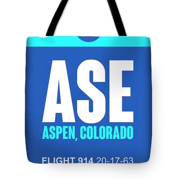 Ase Aspen Luggage Tag II Tote Bag