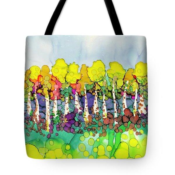 Aspen Autumn Tote Bag