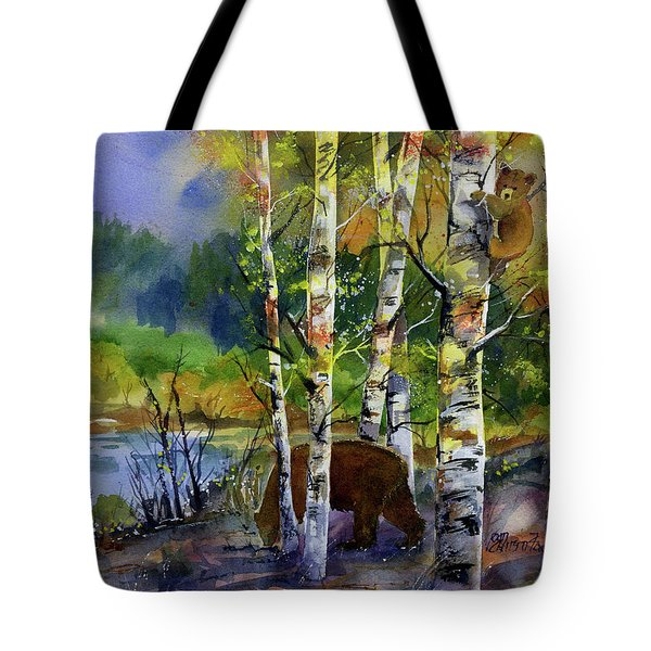 Aspen Bears #2 Tote Bag