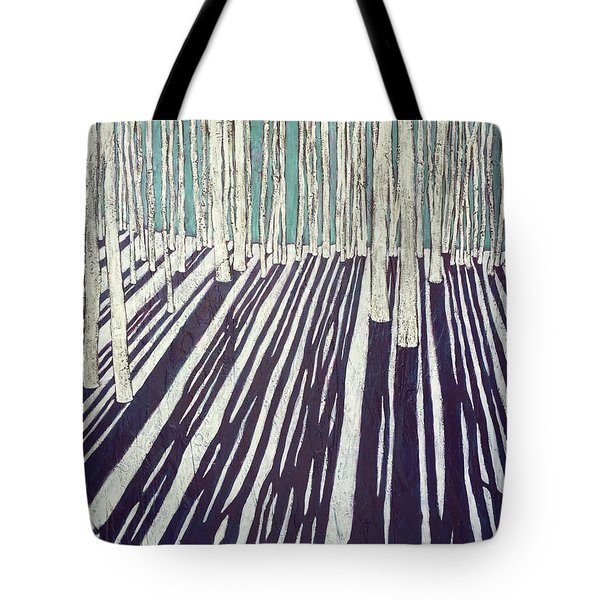 Aspen Shadow Silhouettes Tote Bag