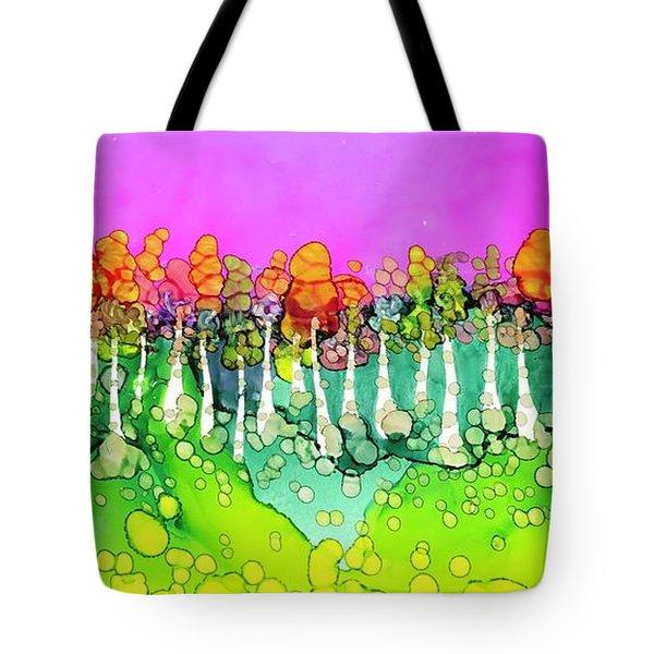 Aspen Sunset Tote Bag